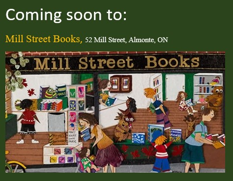 Mill Street books coming soon poster