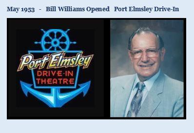Bill Willliams opened Port Elmsley May 1953