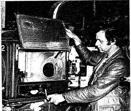 Widge Williams projector